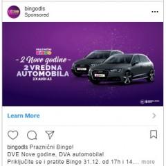 Bingo Instagram decembar