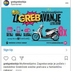 GrebGreb nastavak Instagram