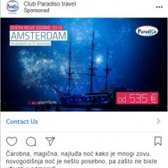 paradiso instagram oglas