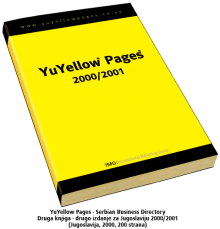 Druga knjiga - drugo izdanje za Jugoslaviju- 2000/2001