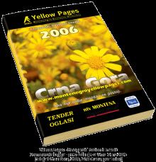 Osamnaesta knjiga - peto izdanje za Crnu Goru 2006