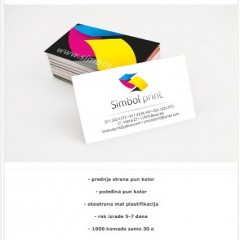 Simbol Print - Izrada vizit karata na specijalnim papirima
