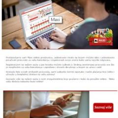 Maxi - Obavite vašu sledeću nabavku online