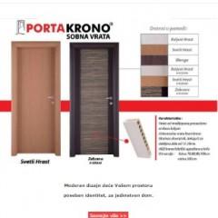 Portakrono - Sobna vrata vrhunskog kvaliteta