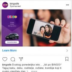 Bingo taguj baku kampanja